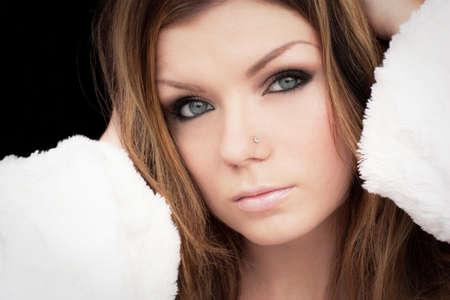 Beautiful Sexy British Girl Stock Photo - 10218317