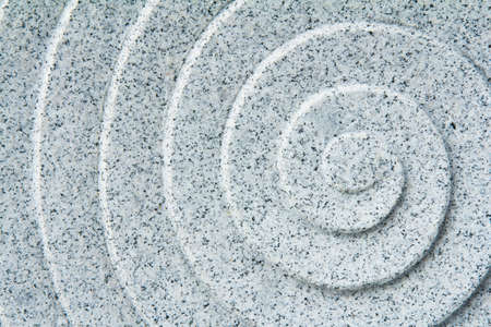 Spiral Pattern Of Marble photo