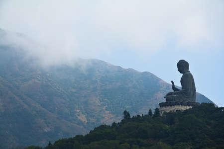 big buddha: Big Buddha On Top Of The Mountain
