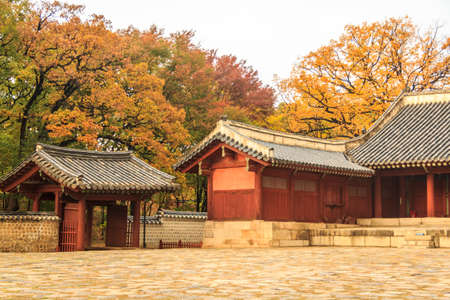 Ancient Korea Palace