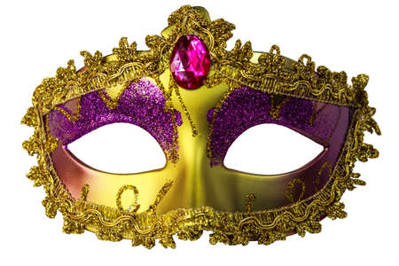 mardi gras: Isolated Fantasy Mask Stock Photo