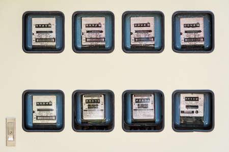 contador electrico: Isolated Electric Meter En Lotes