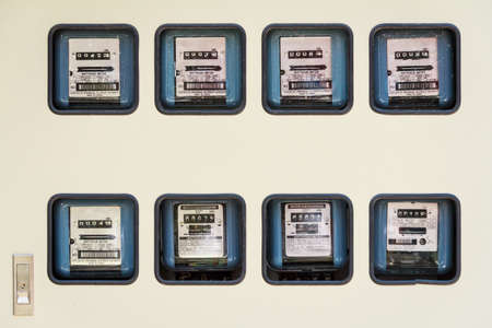 Isolated Electric Meter In Lots photo