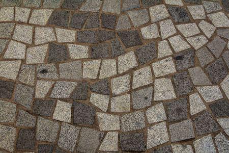 Brick Footpath Background Square Shape photo
