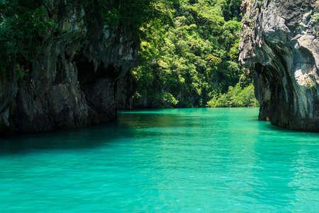 Lagoon Of Andaman Sea, Krabi Thailand