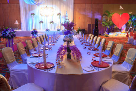 Luxury Indoors Wedding Banquet Room