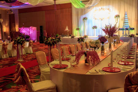 Luxury Indoors Wedding Party Room