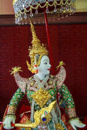 Ramayana Statue Antique History Of Thailand photo