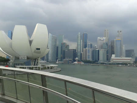 view: Singapore cityscape