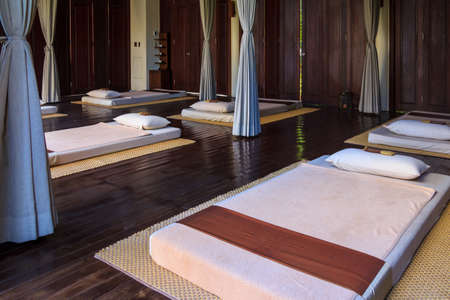 Traditional Thailand Style Massage Treatment Room photo