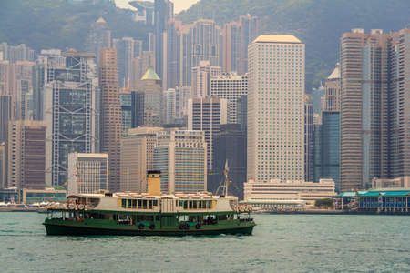 Hong Kong Famous Tourist Destination Day Time View photo