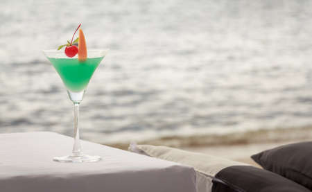 Cocktail On The Beach With Sea View photo