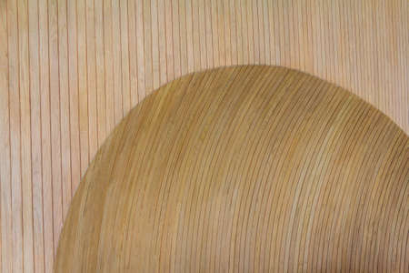 concave: Brown Wooden Wall Concave Design Stock Photo