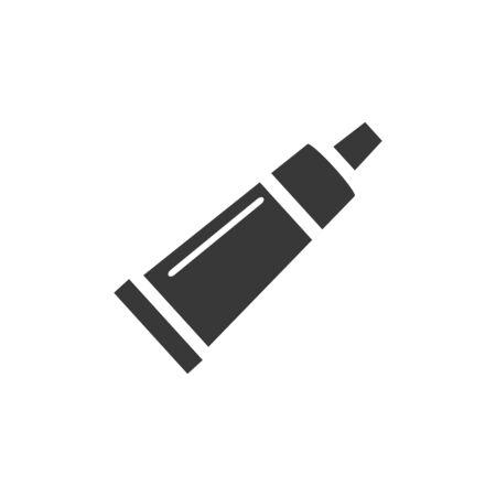 Skin cream tube icon and toothpaste. Pharmacy vector illustration Ilustracja