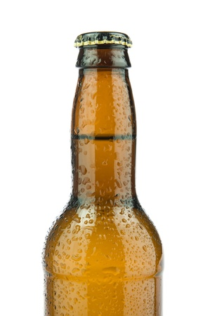Picture of one beer bottle.