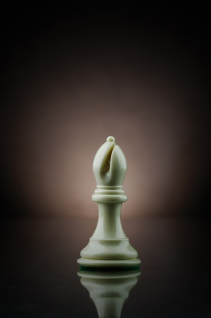 Picture of bishop from the game of chess. Stock Photo