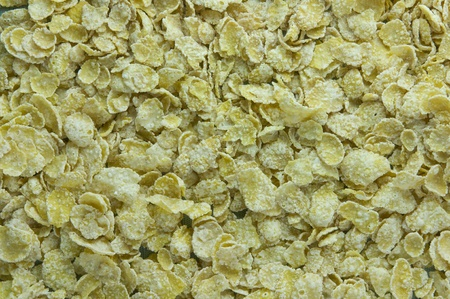 Picture of corn flakes cereal