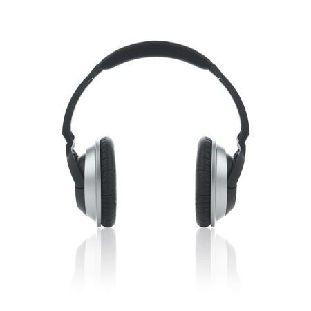 Picture of a modern headphones.