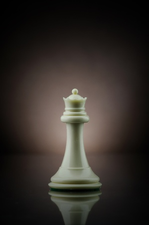Picture of queen from game of chess.