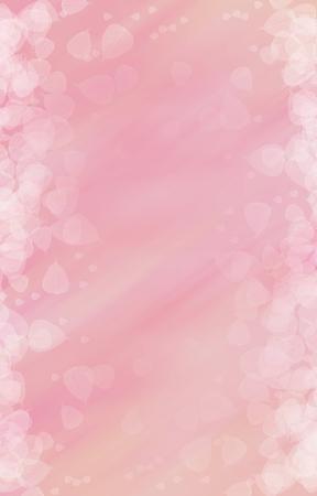Pink heart shape background Stockfoto
