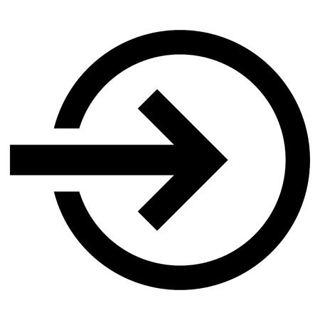 Import Vektor-Symbol. Style ist flach Symbol Symbol, Farbe schwarz, mit weißem Hintergrund.