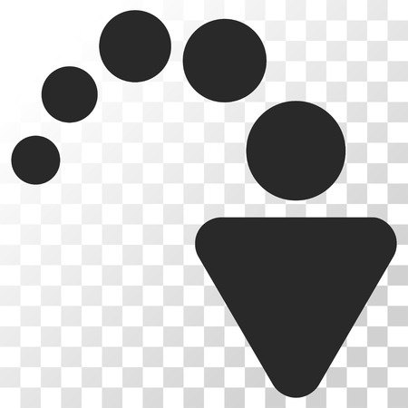 redo: Redo vector icon. Image style is a flat gray color pictogram symbol.