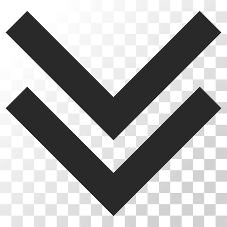 shift: Shift Down vector icon. Image style is a flat gray color pictogram symbol.