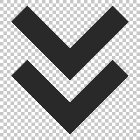 shift: Shift Down vector icon. Image style is a flat gray icon symbol.