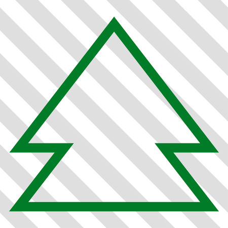 upward movements: Direction Up vector icon. Image style is a flat green pictogram symbol on a hatched diagonal transparent background.