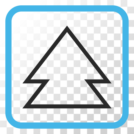 upward movements: Direction Up blue and gray vector icon. Image style is a flat iconic symbol inside a rounded square frame on a transparent background.