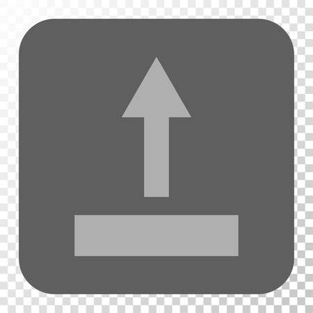 Pull Up Square Icon Vector Pictogram Style Is A Flat Symbol