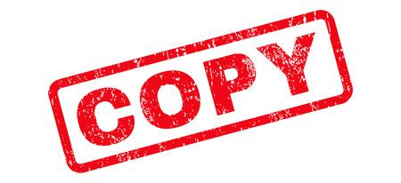Copiez le filigrane de timbre en caoutchouc joint texte. Légende à l'intérieur de la bannière rectangulaire avec design grunge et texture de la poussière. Signe de l'encre rouge vecteur incliné sur un fond blanc.