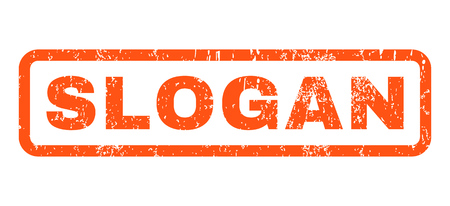 axiom: Slogan text rubber seal stamp watermark. Caption inside rounded rectangular shape with grunge design and scratched texture. Horizontal vector orange ink sticker on a white background.