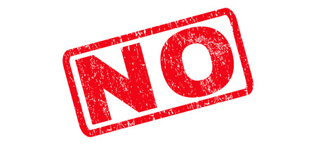 disagree: No text rubber seal stamp watermark. Tag inside rounded rectangular shape with grunge design and dirty texture. Slanted vector red ink emblem on a white background. Illustration