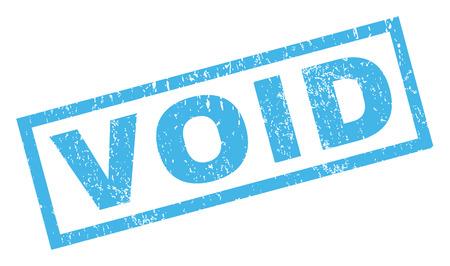 Filigrane de cachet de joint de caoutchouc de texte vide. Tag à l'intérieur d'une forme rectangulaire avec un design grunge et une texture de poussière. Autocollant d'encre bleu vecteur incliné sur fond blanc.