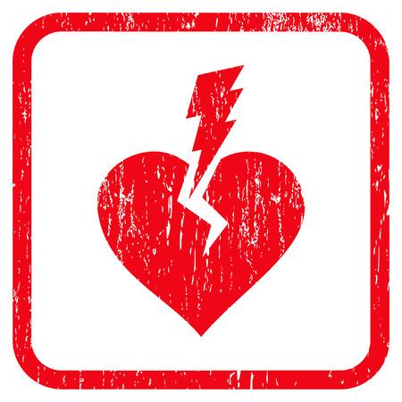 Love Heart Crash rubber watermark.