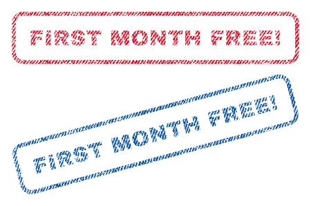 Get The 1st Month Free Gold Stamp Badge Vector Golden Award With