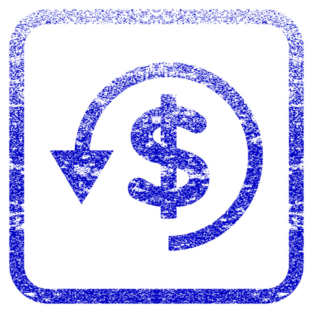 reverse: Chargeback textured icon for overlay watermark stamps.