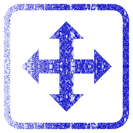 Expand textured icon for overlay watermark stamps blue vectorized texture. Imagens - 75835499