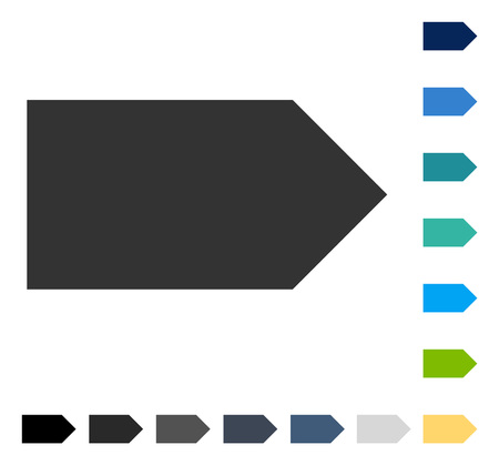 Direction Right icon. Vector illustration style is flat iconic symbol in some color versions.