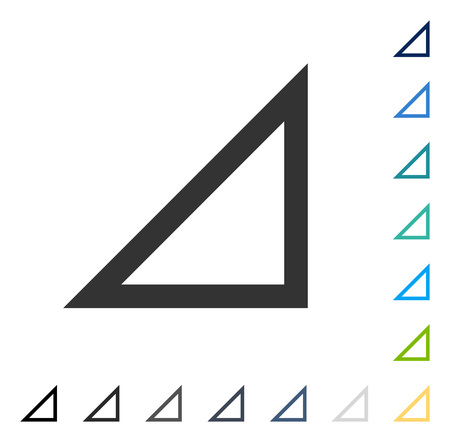 Arrowhead Right Down icon. Vector illustration style is flat iconic symbol in some color versions.