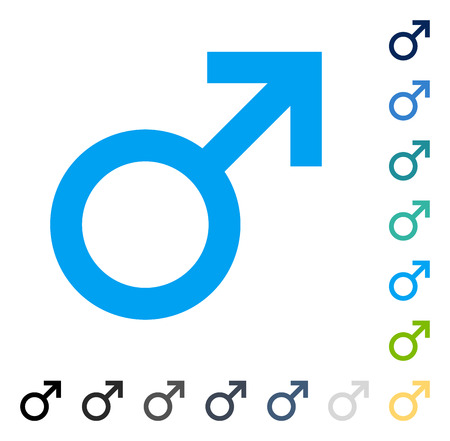 adult sex: Male Symbol icon. Vector illustration style is flat iconic symbol in some color versions.