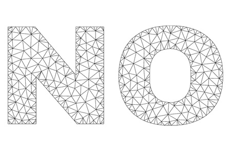 Mesh vector NO text. Abstract lines and small circles form NO black carcass symbols. Wire carcass flat triangular mesh