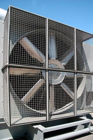 Industrial cooler fan
