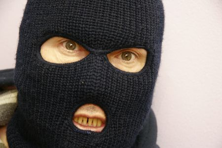 fugitive: Masked man