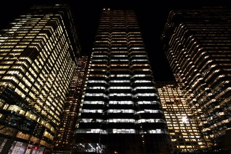 condos: Late night in down town