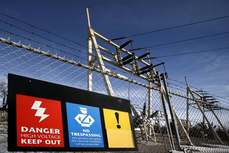electric current: Signs Stock Photo