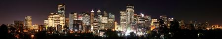 Panorama of Calgary Stock Photo