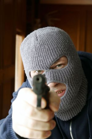 Gunpoint Stock Photo - 1186949