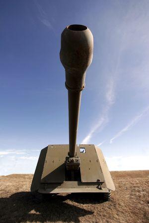 vintage riffle: Field gun